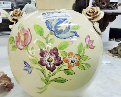 158369 – Vaso porcellana con fiori